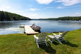 YEAR ROUND Lake House on PRIVATE Tennanah Lake  - YEAR ROUND Tennanah Lake Lakehouse